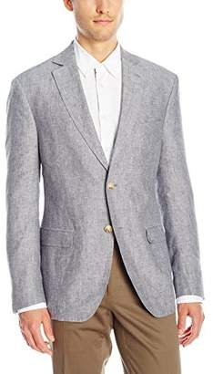 Franklin Tailored Men's Chambre Delave Linen Newton Sport Coat