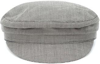 Isabel Marant Evie houndstooth wool cap
