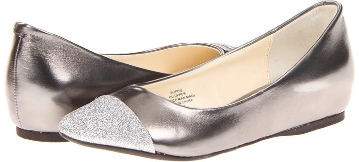 Romantic Soles Sophie (Pewter/Sparkle) - Footwear