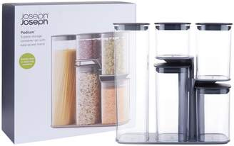 Joseph Joseph Podium Storage Jar Set (Pack of 5)