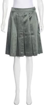 Etro Pleated Knee-Length Skirt