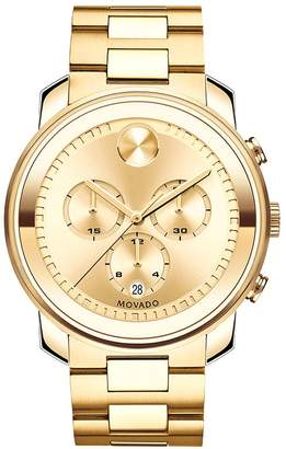 Movado Bold Chrono Bold Gold Watch