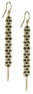 Black Diamond Amali Drop Earrings