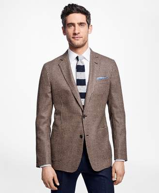 Brooks Brothers Regent Fit Houndstooth Sport Coat