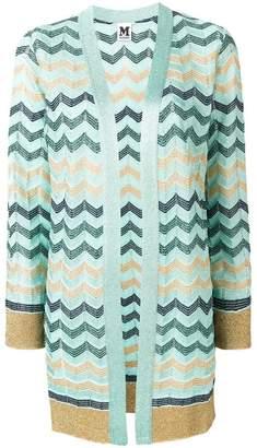 M Missoni zigzag pattern cardigan