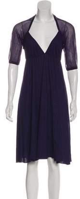 Jean Paul Gaultier Short Sleeve Mini Dress