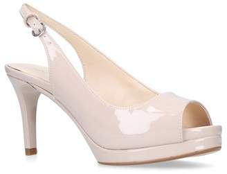 Nine West Nude 'Competition' Sandals