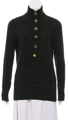 Tory Burch Long Sleeve Turtleneck Sweater