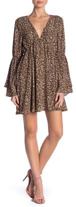 Lucca Couture Floral Mini Dress