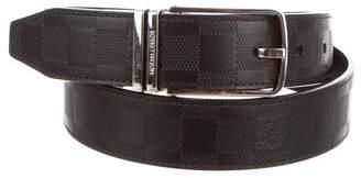 Louis Vuitton Damier Infini Boston Reversible Belt