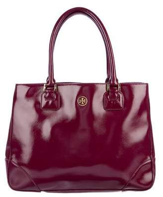 Tory Burch Robinson Patent Leather Tote