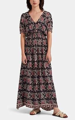 Natalie Martin Women's Laurie Floral Maxi Dress - Purple