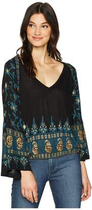 Free People Medallion Top Women's Clothing