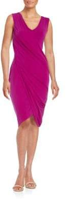 Rachel Roy Drape-Front Dress