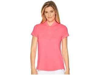 Nike Dry Polo Short Sleeve Blade Left Chest Women's Clothing