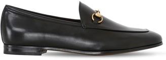 Gucci 10mm Jordan Horsebit Leather Loafers