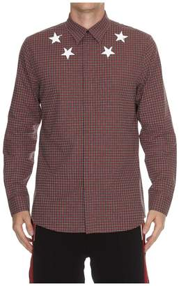 Givenchy Vintage Stars Checked Shirt