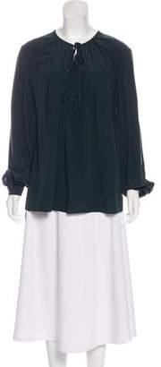 Joseph Silk Long Sleeve Top w/ Tags