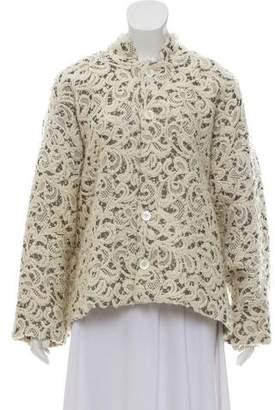 eskandar Wool & Silk Coat