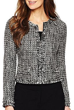JCPenney Worthington® Tweed Jacket