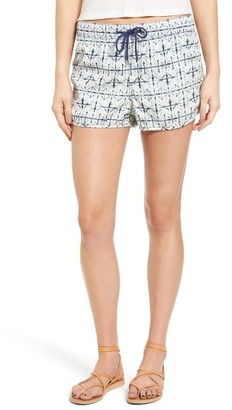 Women's Roxy Here She Comes Print Shorts $44.50 thestylecure.com