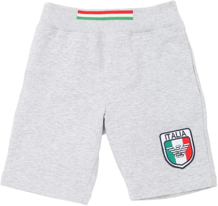 Italy Soccer Team Cotton Sweat Shorts