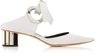 Proenza Schouler Point-Toe Leather Pumps