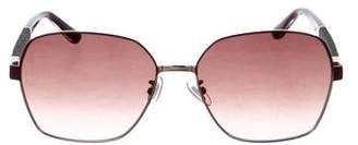 Jimmy Choo Sia Glitter Sunglasses