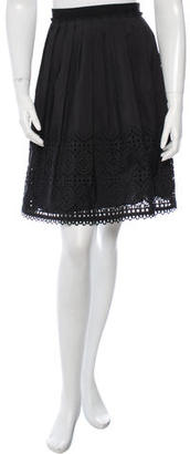 Alice by Temperley Laser Cut Pleated Skirt $50 thestylecure.com