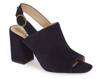 Sole Society Juniah Block Heel Sandal