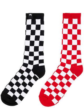 Stussy Checker Sock Pack
