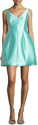 Kate Spade New York Structured Silk Mini Dress $398 thestylecure.com