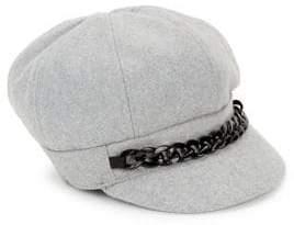 Collection 18 Wool-Blend Newsboy Cap