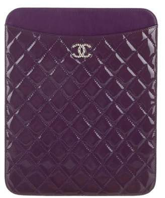 Chanel Brilliant iPad Case Purple Brilliant iPad Case