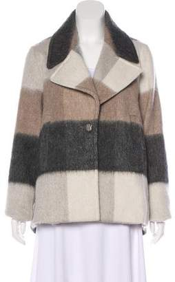 Laundry by Shelli Segal Wool-Blend Colorblock Coat