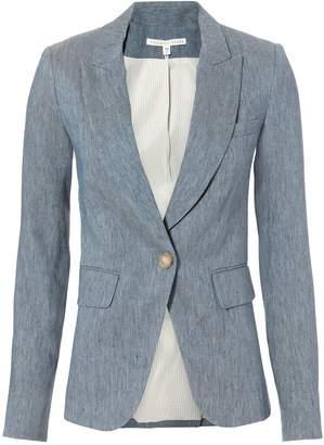 Veronica Beard Blue Cutaway Blazer