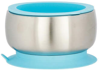 Avanchy Stainless Steel Suction Baby Bowl with Lid