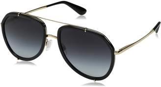 Dolce & Gabbana Women's Metal Woman Aviator Sunglasses