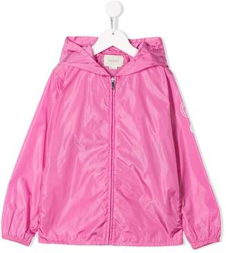 Gucci Kids hooded rain jacket