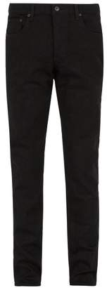 Rag & Bone Fit 2 Straight Leg Jeans - Mens - Black