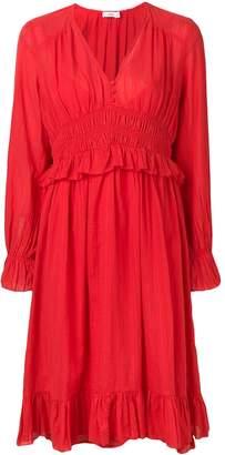 Closed pleated dress