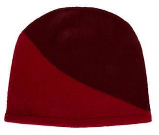 Armand Diradourian Cashmere Knit Beanie w/ Tags Red Cashmere Knit Beanie w/ Tags