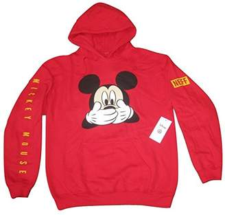 Neff Men's Disney X Mickey Mouse Uh Oh Pullover Hoodie Sweatshirt