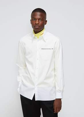 Calvin Klein Warhol Flag Point Collar Shirt