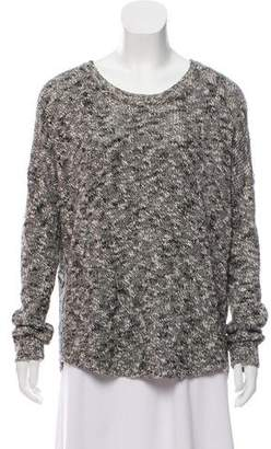 Vince Mélange Linen-Blend Sweater