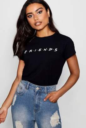 Next Womens Boohoo Friends Licensed T-Shirt