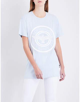 Boy London Plastisol cotton-jersey T-shirt
