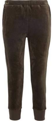 Vince Stretch-Cotton Velour Track Pants