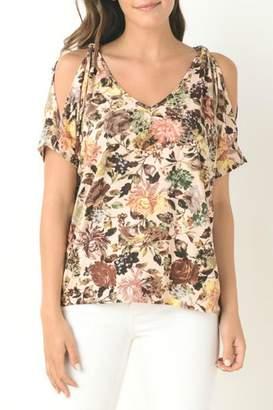 Gilli Floral Print Top