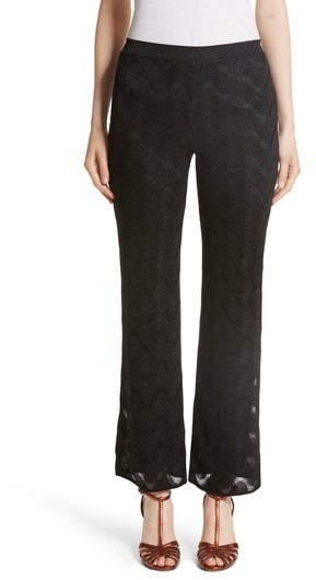Women's Missoni Metallic Knit Crop Pants